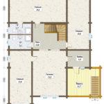 план 1-го этажа белгород