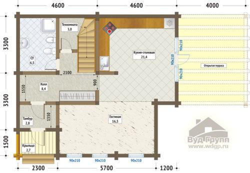 екатериновка план 1-го этажа