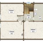 горки план 2-го этажа