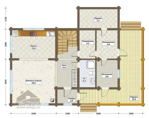 максим план 1-го этажа