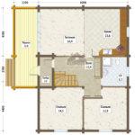 савалеево план 1-го этажа