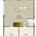 савалеево план 2-го этажа