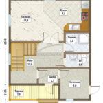 план 1-го этажа стулово