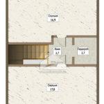 план 2-го этажа стулово