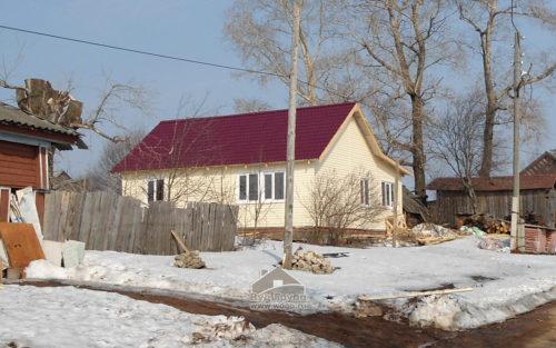 каркасный дом в Слободском