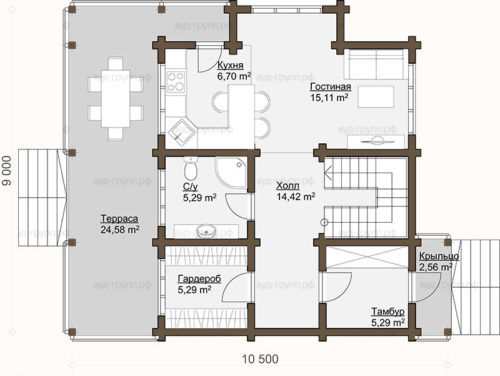 лукерьино план 1-го этажа