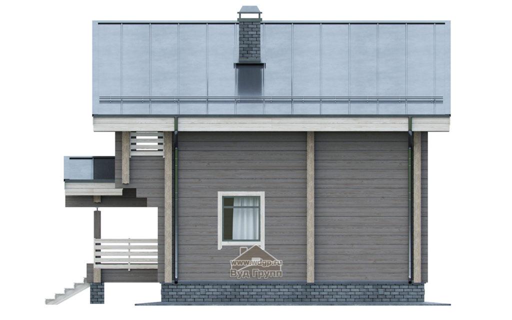 фасад боковой дом печора