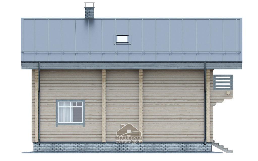 боковой фасад дома углич