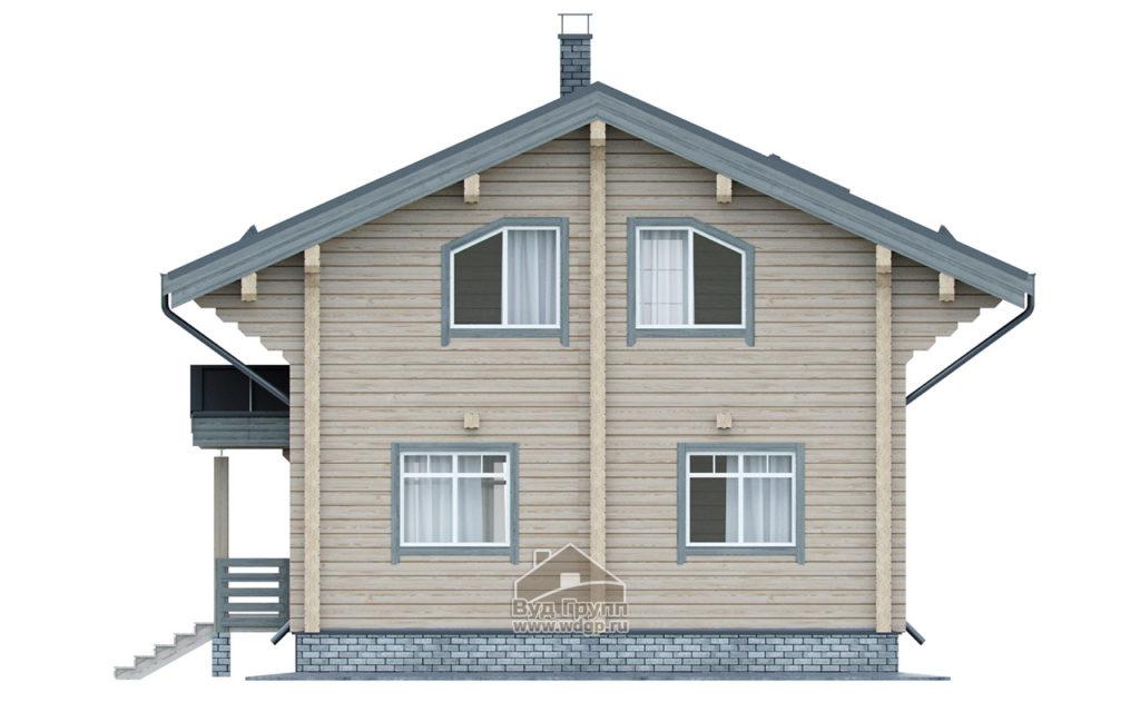 фасад дома углич