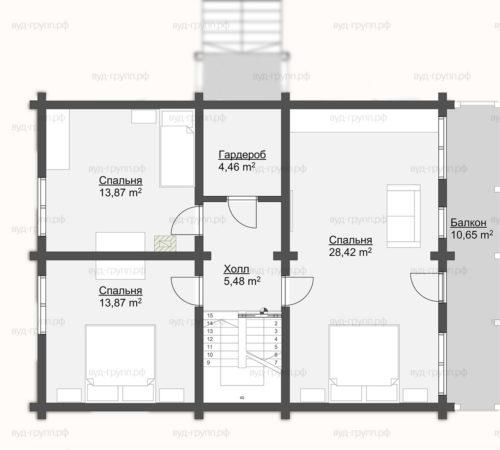 план 2-го этажа углич