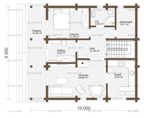 саламатово план 1-го этажа