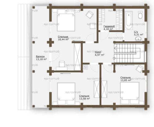 саламатово план 2-го этажа